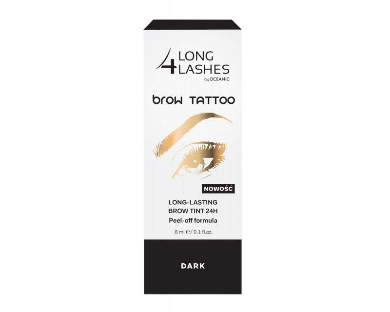 49289c24bfc LONG 4 ASHES Brow Tattoo- dark, 8ml