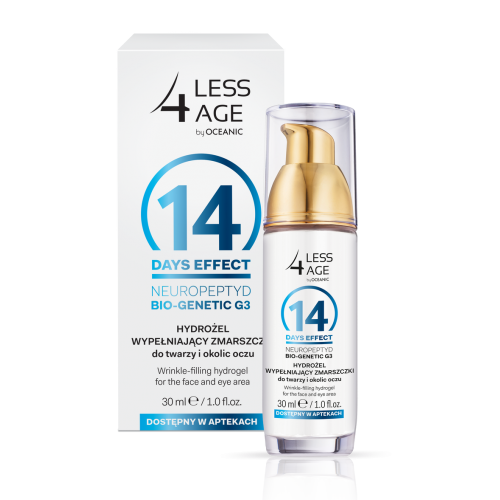 LESS 4 AGE HYDROGEL FILLING FACIAL WRINKLES AND WRINKLES AROUND THE EYES, 30ML
