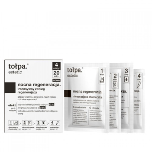 Tolpa effervescent face wash gel-peeling with camphor, 195 ml