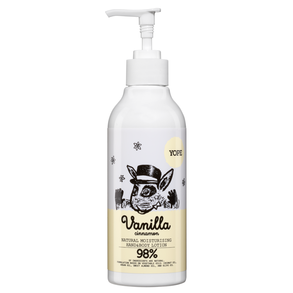 YOPE Vanilla & Cinnamon Hand and Body Lotion 300ml