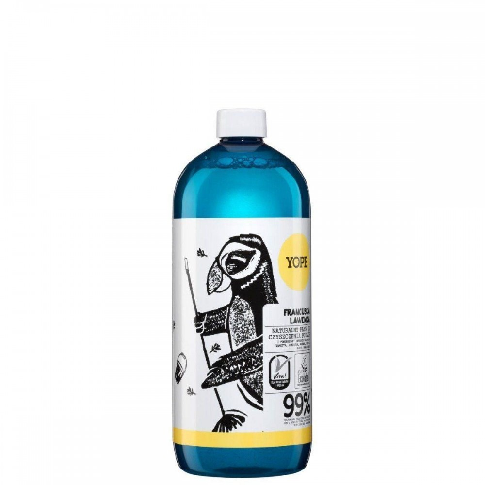 YOPE NATURAL FLOOR CLEANER WITH FRENCH LAVENDER 1000ML